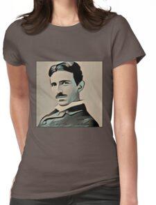 Nikola Tesla  Womens Fitted T-Shirt