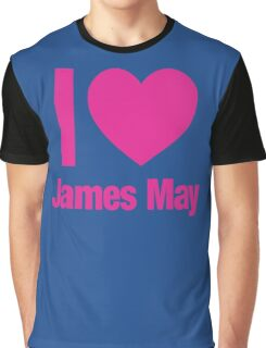 Top Gear - I LOVE JAMES MAY Graphic T-Shirt