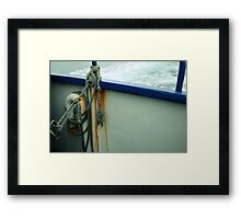 An Old Knot on The Pirate Queen Framed Print