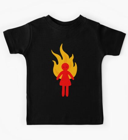 Angry Girl Kids Tee