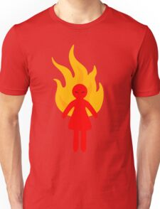 Angry Girl Unisex T-Shirt