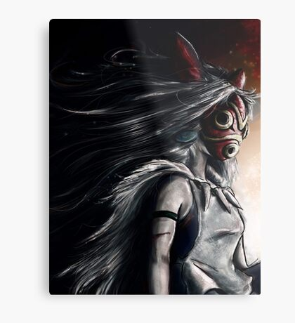 Princess Mononoke  Metal Print