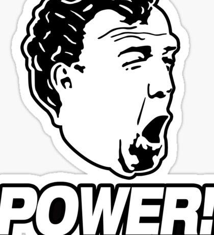 Top Gear - Jeremy Clarkson POWER!! Sticker