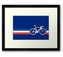 Bike Stripes French National Road Race Framed Print