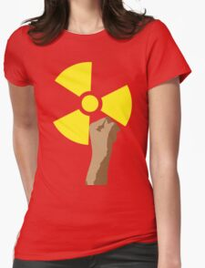 Power of the Atom Womens Fitted T-Shirt