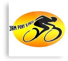 Jam Pony Logo (Dark Angel) Metal Print