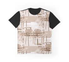 Empty Chairs © Vicki Ferrari Graphic T-Shirt