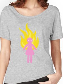 Angry Pastel Girl Women's Relaxed Fit T-Shirt