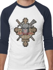 Deus Vult Men's Baseball ¾ T-Shirt