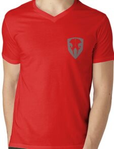 LMB (Small) Mens V-Neck T-Shirt
