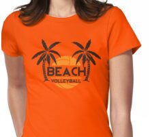 Beach volleyball Womens Fitted T-Shirt