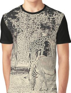 Stripes and tiles, it is a wildlife Graphic T-Shirt