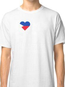 I Love My Hot Filipino Girlfriend Classic T-Shirt