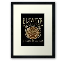 Elsweyr Traders Guild Framed Print