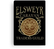 Elsweyr Traders Guild Canvas Print