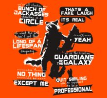 Rocket Raccoon Quotes Kids Clothes
