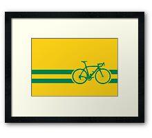 Bike Stripes Australian National Road Race Framed Print