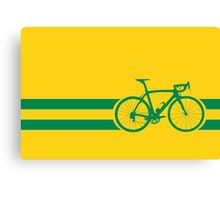 Bike Stripes Australian National Road Race Canvas Print
