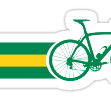 Bike Stripes Australian National Road Race Sticker