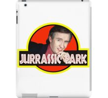 "Alan Partridge ""JURASSIC PARK"" iPad Case/Skin"