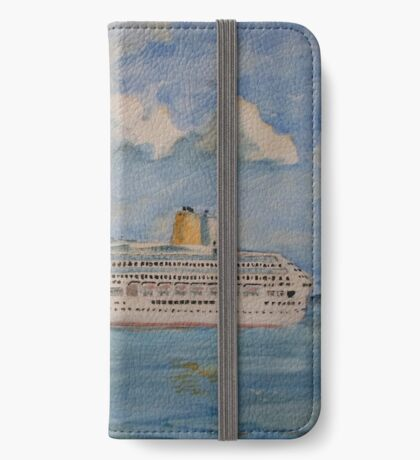 The Cruise Ship Aurora iPhone Wallet/Case/Skin