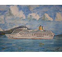 The Cruise Ship Aurora Photographic Print