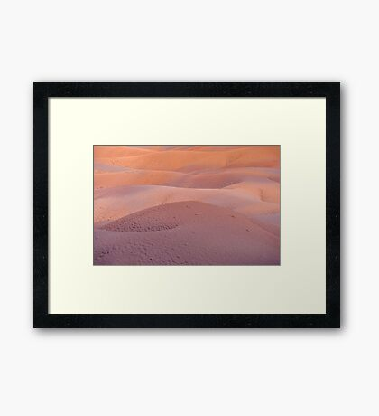 Earth Bodyscape.  Natural Abstract  Framed Print