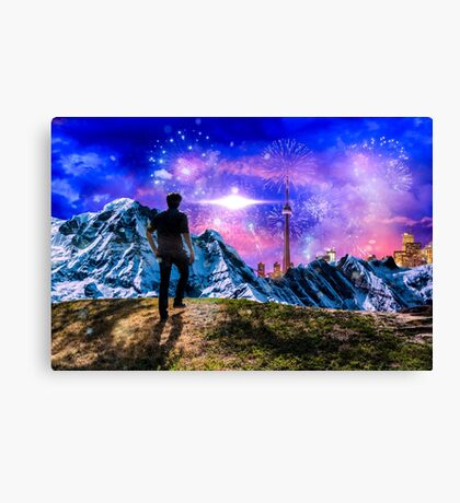 High on Drugs Canvas Print