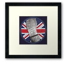 Dr. Martens Boot Sole union jack Framed Print
