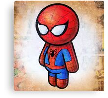 """""""WEB SLINGER"""" POOTERBELLY Canvas Print"""