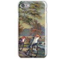 Approaching the Finch Line iPhone Case/Skin