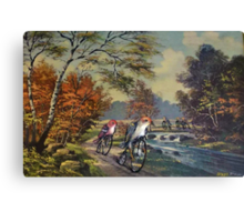 Approaching the Finch Line Canvas Print