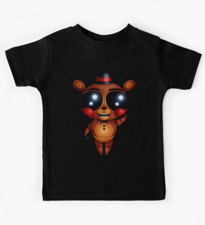 FNaF 2 - Chibi Toy Freddy Fazbear (Variant Version) Kids Tee