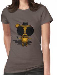 FNaF 2 - Chibi Golden Freddy Womens Fitted T-Shirt