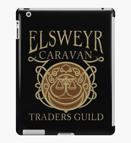Elsweyr Traders Guild iPad Case/Skin