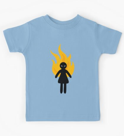 Beware of The Angry Girl Kids Tee