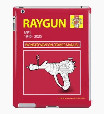 Ray gun Haynes Manual iPad Case/Skin