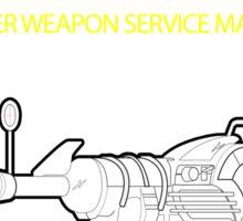 Ray gun Haynes Manual Sticker