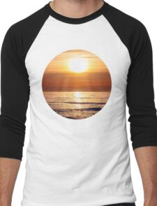 Golden Sunset Men's Baseball ¾ T-Shirt