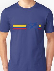Bike Stripes Colombia National Road Race T-Shirt