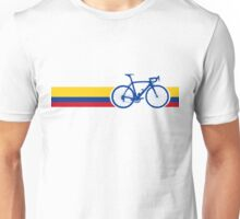 Bike Stripes Colombia National Road Race Unisex T-Shirt