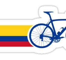 Bike Stripes Colombia National Road Race Sticker