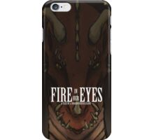 Fire in her Eyes iPhone Case/Skin