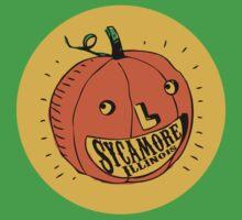 Pumpkin a la Sycamore Illinois #1 One Piece - Short Sleeve