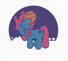 Kiss Under the Cameltoe Kids Tee