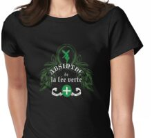 Absinthe de la fée verte Womens Fitted T-Shirt