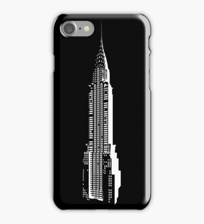 Emblematic Chrysler building iPhone Case/Skin