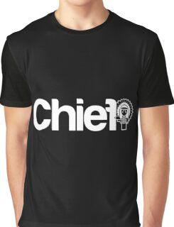 Project Chief  |  White Graphic T-Shirt