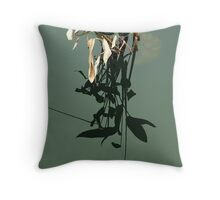 Reflections of Leaves Throw Pillow