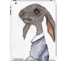 DRESSED HARE iPad Case/Skin
